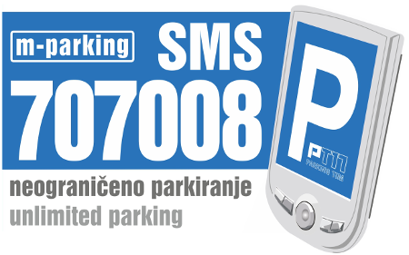 mParking 707008 - City of Dubrovnik (Dubrovnik General Hospital parking)