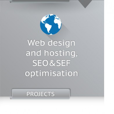 Web design and hosting, SEO&SEF optimisation