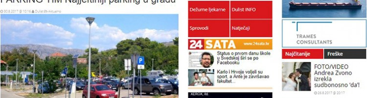 DUlist: 'PARKING TIM Najjeftiniji parking u gradu Dubrovniku'