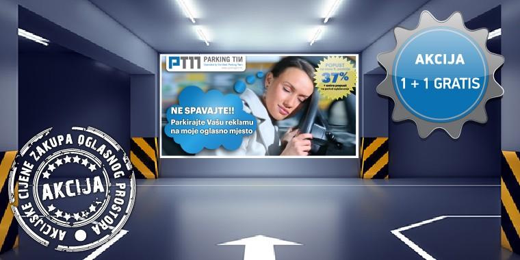 Idealno parkirno mjesto za vašu reklamu!